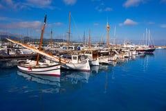 Ibiza San Antonio Abad Sant Antonio de Portmany marina Royalty Free Stock Photography
