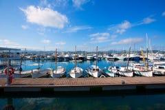 Ibiza San Antonio Abad Sant Antonio de Portmany marina Royalty Free Stock Images