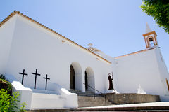 Ibiza Sant Joan Labritja San Juan church Stock Photos