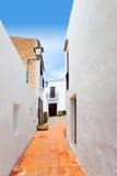 Ibiza Sant Josep de sa Talaia San Jose street Royalty Free Stock Image