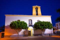 Ibiza Santa Gertrudis de Fruitera of Santa Eulalia Stock Photography