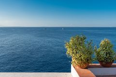 Ibiza, seascape foto de stock royalty free