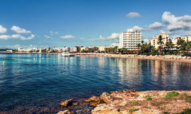 Ibiza seaside Stock Photography