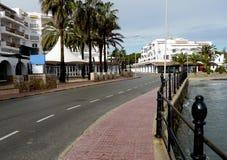 Ibiza sikter arkivbilder