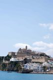 Ibiza skyline Stock Images