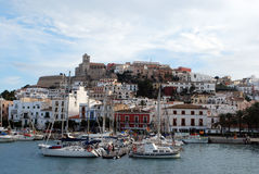 Ibiza skyline Royalty Free Stock Photo