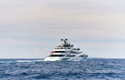 Lionheart yacht in the Sea Royalty Free Stock Image