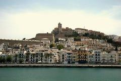 Ibiza Stadt Stockbild