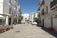 Ibiza Stadt Stockbilder