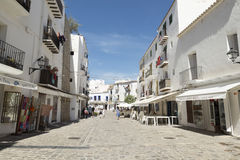Ibiza Stadt Lizenzfreie Stockfotos