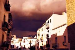 Ibiza storm Royalty Free Stock Image