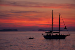 Ibiza Sunset Stock Image