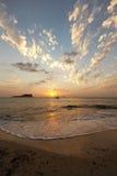 Ibiza sunset Royalty Free Stock Photos