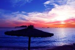 Free Ibiza Sunset In Cala Conta Conmte Royalty Free Stock Photography - 21999827