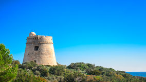 Ibiza Tower Sa Sal Rosa Stock Image