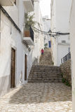 Ibiza Town Arkivbilder