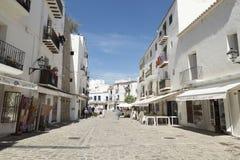Ibiza Town Royaltyfria Foton