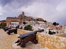 Ibiza Town, Balearic Islands royalty free stock photography