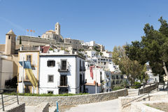 Ibiza town Royalty Free Stock Photo
