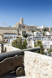 Ibiza town Stock Photography