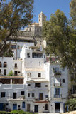 Ibiza town Royalty Free Stock Photography