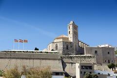 Ibiza town Royalty Free Stock Photos