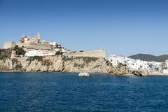Ibiza town Royalty Free Stock Image
