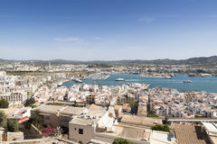 Ibiza town Royalty Free Stock Photography