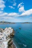 Ibiza Town and harbor, Balearic Islands Stock Photos