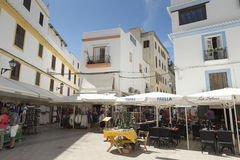 Ibiza town Royalty Free Stock Image