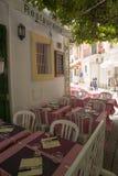 Ibiza town Stock Photography