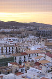 Ibiza Town at sunset, Eivissa - Spain Royalty Free Stock Image
