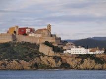 Free Ibiza Town Walls Royalty Free Stock Images - 32907589
