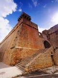 Ibiza Town Walls Royalty Free Stock Image