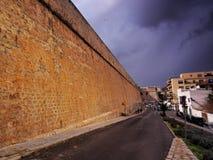 Ibiza Town Walls Stock Photo