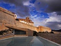 Ibiza Town Walls Stock Photography