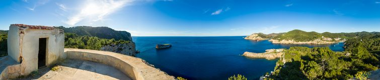 Ibiza west coast Stock Photo