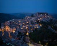 ibla ragusa городского пейзажа Италия Сицилия Стоковое Фото