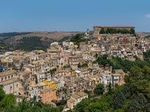 ibla ragusa городского пейзажа Италия Сицилия Стоковые Фотографии RF