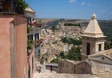 ibla ragusa городского пейзажа Италия Сицилия Стоковые Изображения RF