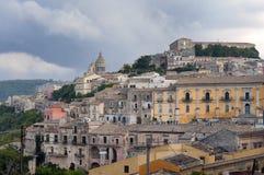 Ibla Sicilia krajobraz Fotografia Stock