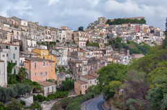 Ibla Sicilia krajobraz Fotografia Royalty Free