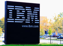 IBM Campus. IBM,  International Business Machines Corporation (IBM) is an American multinational technology and consulting corporation , Sign in Maryland campus Royalty Free Stock Photos