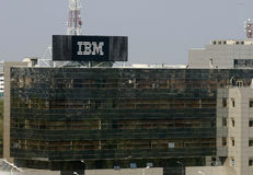 IBM-filial Arkivbild