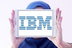 Ibm logo Zdjęcia Stock