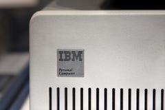 IBM original de computadora personal Imagen de archivo libre de regalías