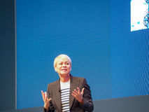 IBM Watson IoT General Manager Harriet Green delivers an address Stock Photos