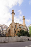 Ibn Badis Mosque of Algiers. Ben Badis founded the Association of Algerian Muslim Ulema, which wa Stock Images