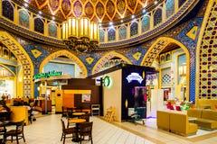 Ibn Battuta Mall, Doubai, de V.A.E Stock Foto's