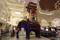 Ibn Battuta Mall in Dubai Royalty Free Stock Images